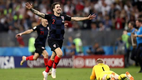 Croatia beats England In Semi-Finals