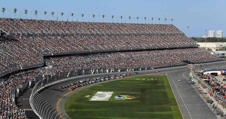 Daytona 500 race track