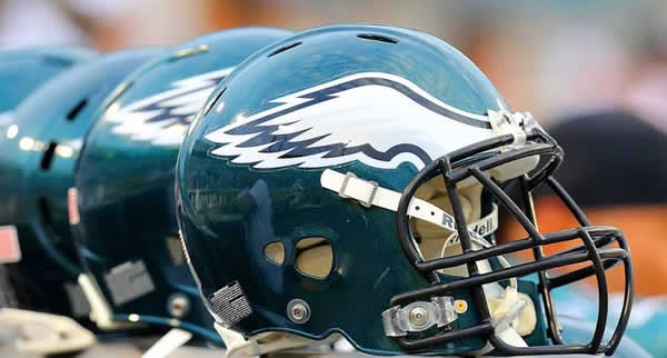 Helmet for Philadelphia Eagles