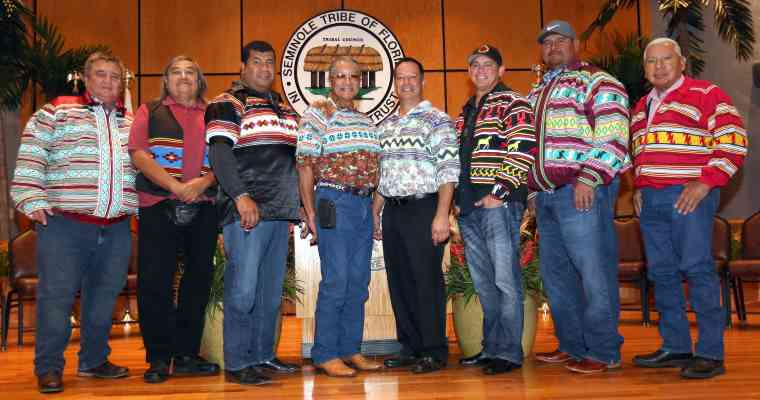 seminole tribe of florida tribal council with new chief