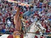 florida state seminoles mascot chief osceola and renegade