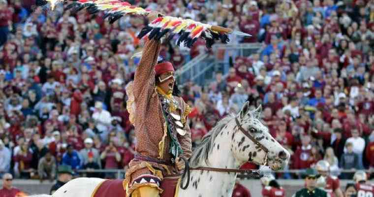florida state seminoles mascot chief osceola and renegade