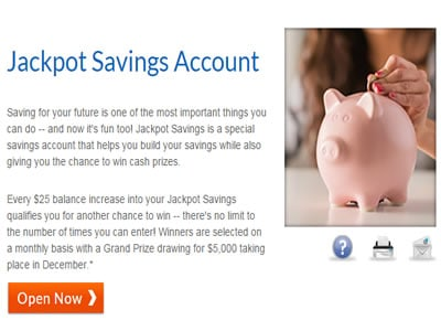 Jackpot Bank Savings Account