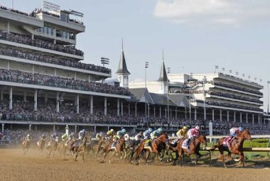 Kentucky Derby race track