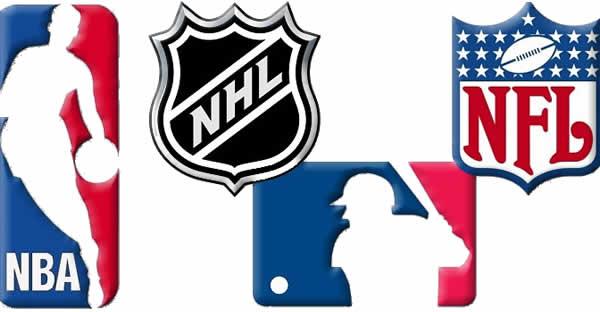 pro sports league logos