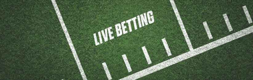 Live betting at Bovada