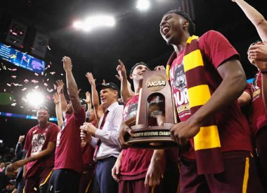 Loyola men's NCAA basketball team