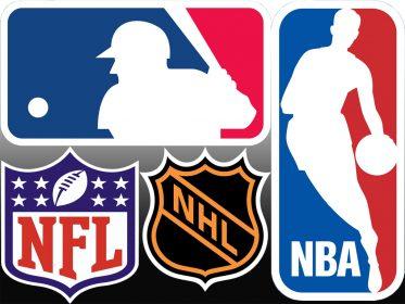 Major US sports leagues
