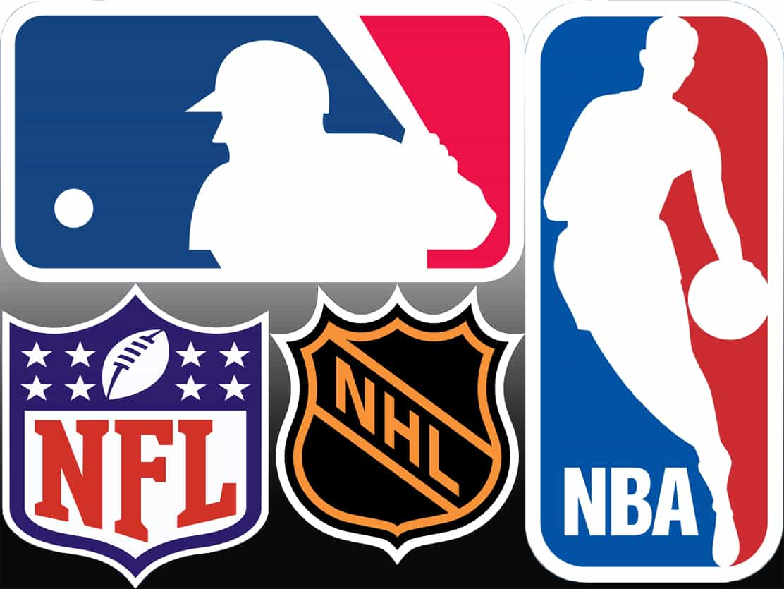 Major US sports leagues