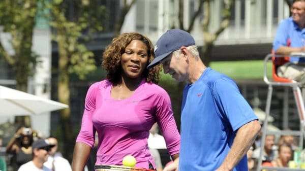 McEnroe and Williams