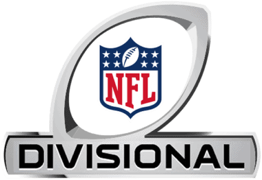 NFL Divisional Playoffs logo