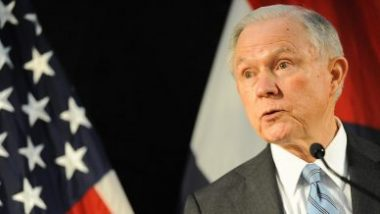 NGA reaches out to Jeff Sessions