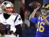 Tom Brady and Jared Goff