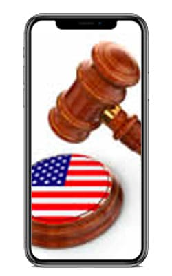 Iphone legal icon