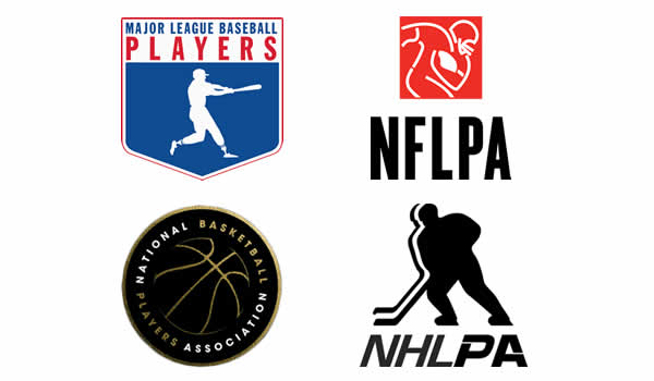 logos for professional sports players associations