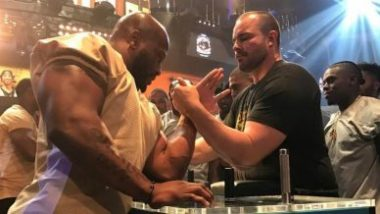 Pro Football Arm Wrestling Championship