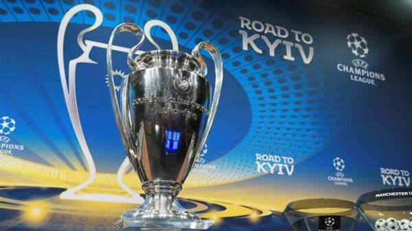 2018 Champions League Quarterfinals Draw