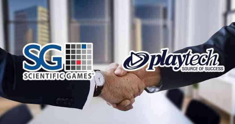 scientific games and playtech partnership