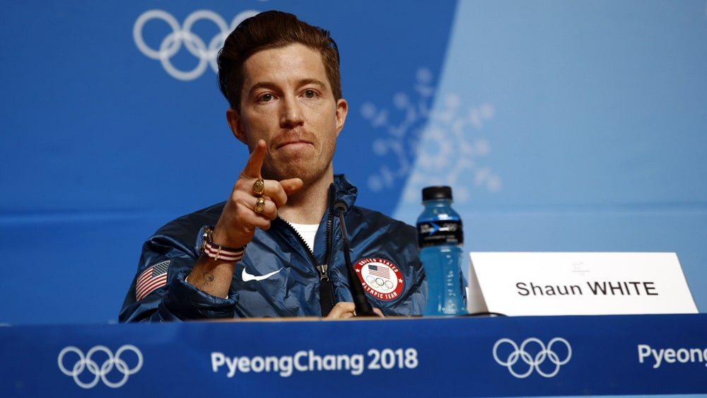 Shaun White apologizing for gossip remark