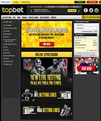 Topbet Sportsbook Screenshot