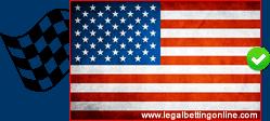 USA Nascar Flag