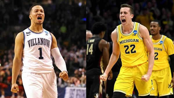 Villanova VS Michigan In 2018 NCAAB championship