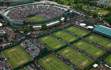 2017 Wimbledon Courts
