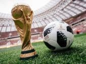 World Cup official ball and trophy