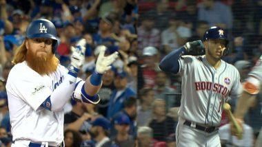 LA Dodgers vs Houston Astros