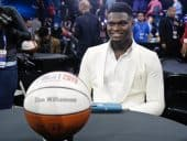 2019 NBA Draft No.1 Overall Pick Zion Williamson Opens As ROTY Favorite